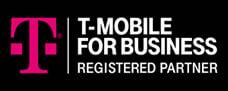 T-Mobile for business registered partner logo